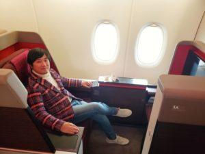 マレーシア航空のビジネス・スイート(旧ファーストクラス)に乗ってみました!