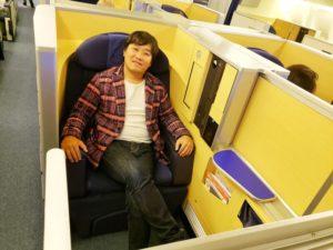 羽田空港から乗るANA国際線ファーストクラスは快適すぎる!